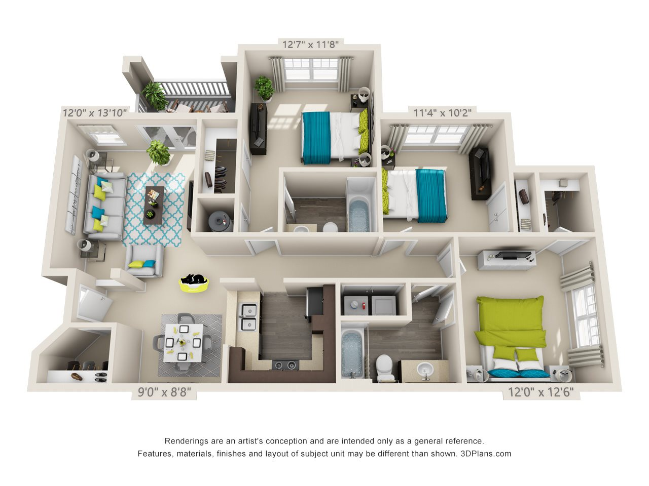 Canterbury Floor Plan 9