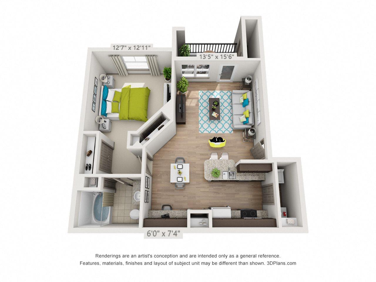 Mercury Floor Plan 1