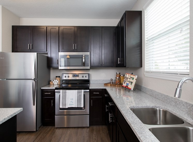 Landstar Village in Orlando, FL near Lake Nona. Make this community your new home or visit other Concord Rents communities at ConcordRents.com. Kitchen