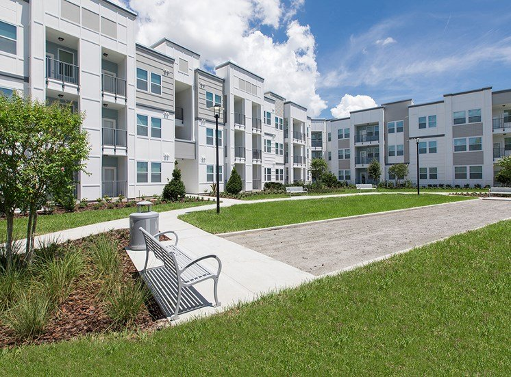 Landstar Village in Orlando, FL near Lake Nona. Make this community your new home or visit other Concord Rents communities at ConcordRents.com. Exterior