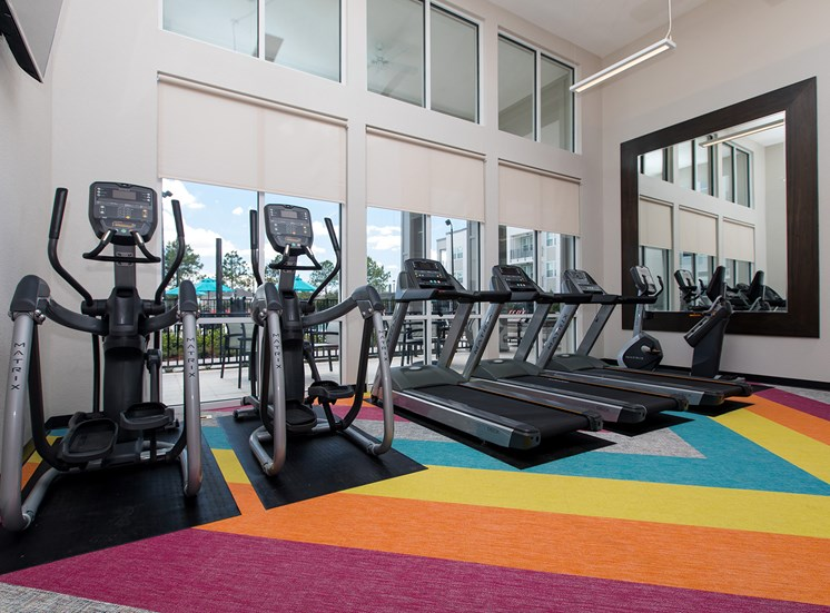 Landstar Village in Orlando, FL near Lake Nona. Make this community your new home or visit other Concord Rents communities at ConcordRents.com. Fitness center