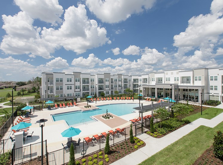 Landstar Village in Orlando, FL near Lake Nona. Make this community your new home or visit other Concord Rents communities at ConcordRents.com. Pool