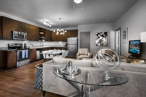 Artisan Twickenham Square Living Room and Kitchen
