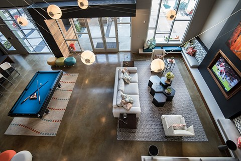 Artisan Twickenham Square Overhead View of Lounge