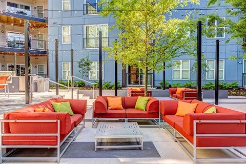 Artisan Twickenham Square Patio View