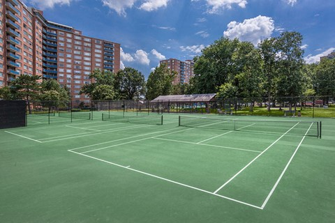 Ashlawn Tennis Court