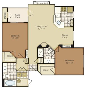 Two Bedroom 3B2A