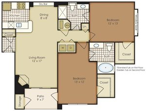 Two Bedroom 4B2A