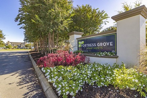 Fortress Grove Apartments Entrance