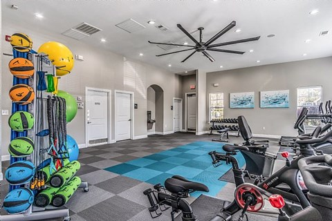 Fortress Grove Apartments Fitness Equipment