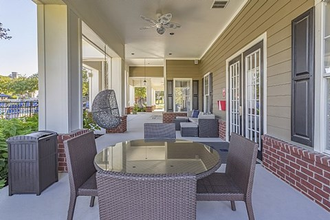 Fortress Grove Apartments Patio Dining Seating