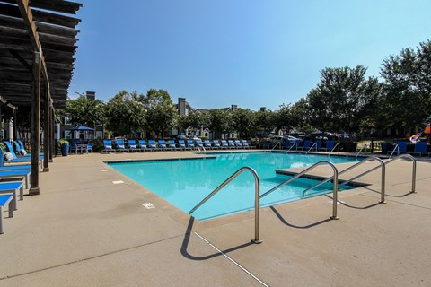 Fortress Grove Apartments Pool View
