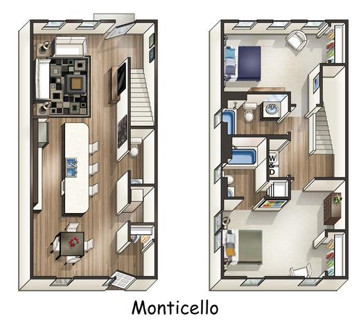 Bell Apartments: Floor Plans Of Bell Watertown In Watertown, MA