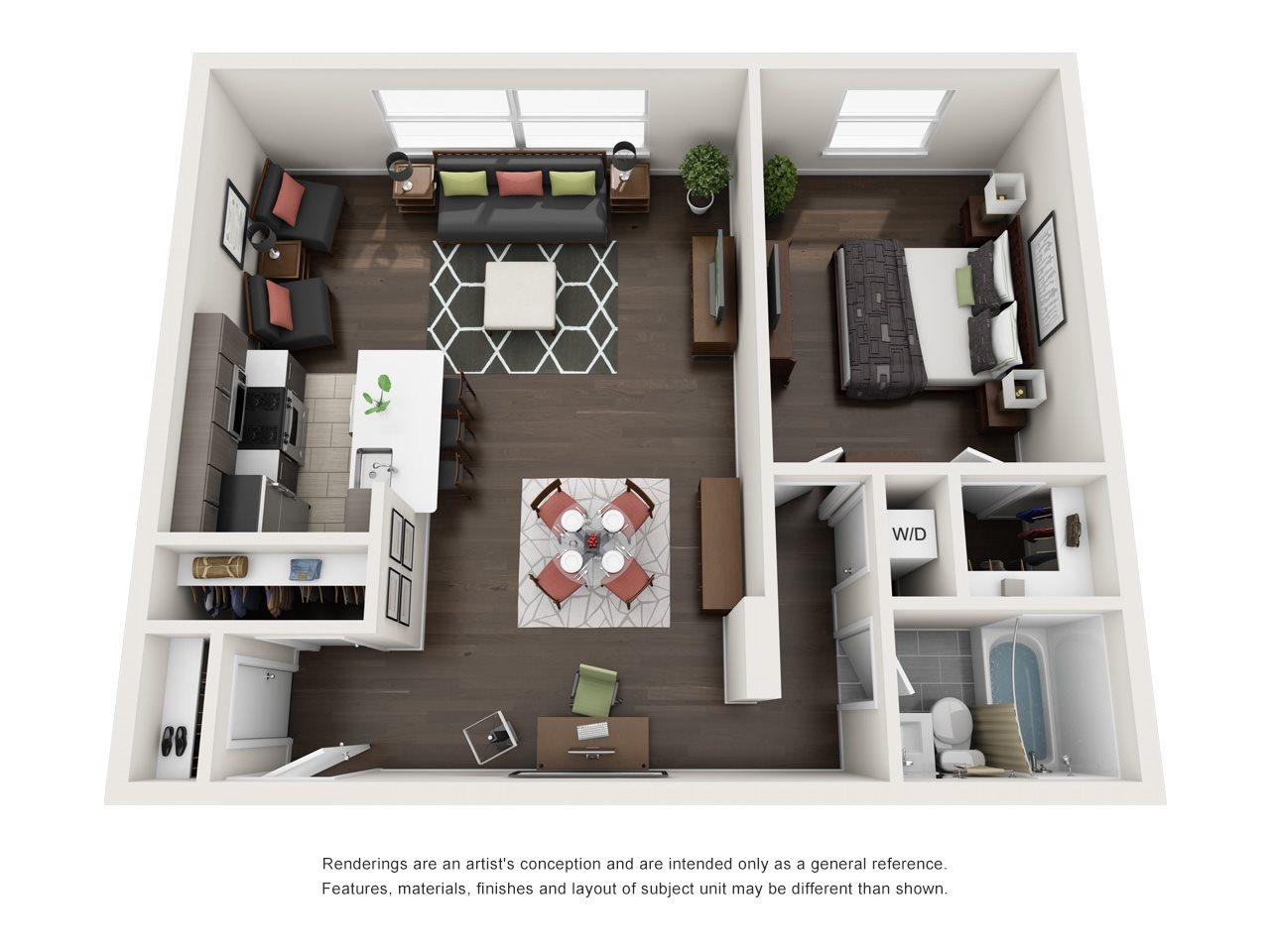 A1D Floor Plan 8