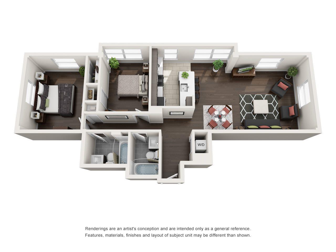 B2A Floor Plan 12
