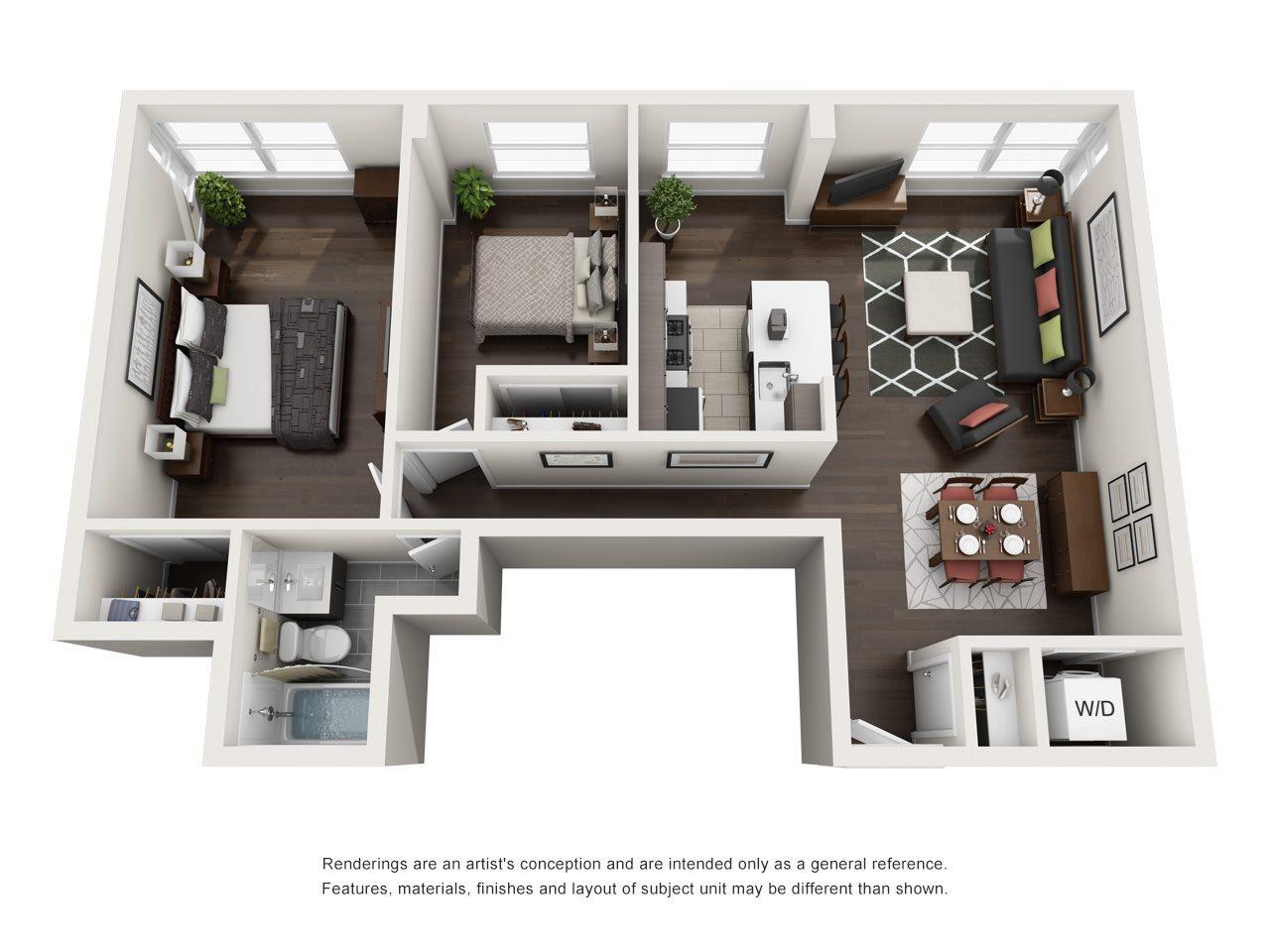 B1A Floor Plan 10