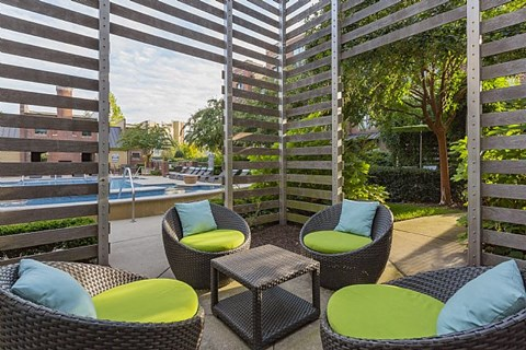 Dwell at McEwen Patio Seating