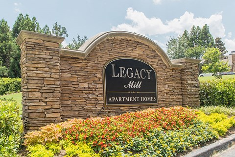 Legacy Mill Property Entrance