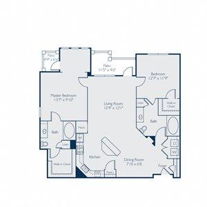 1281 square feet