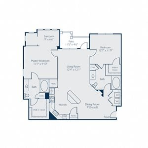 1285-1290 square feet