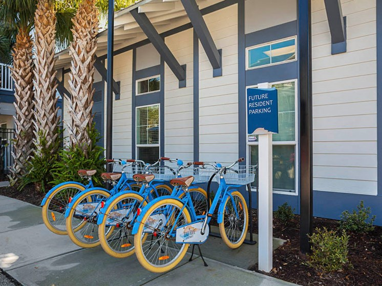 The Beach House Community Bike Share Program