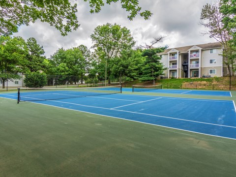 The Villages at West Laurel Tennis Courts