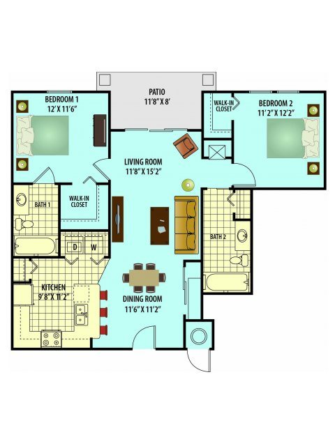 Floor Plans Village Park Senior Living Concord Rents