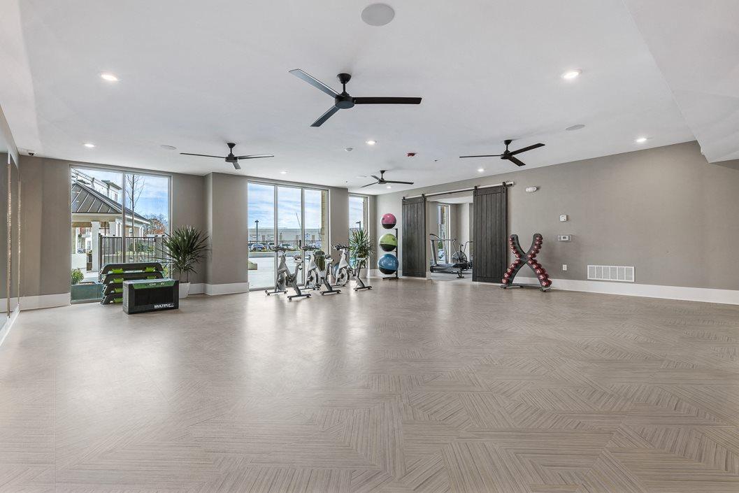 Yoga and Spin Studio Hawthorne at Friendly Greensboro NC