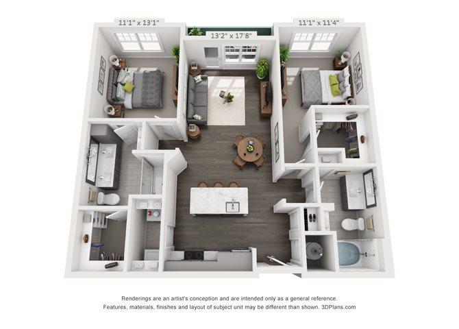B1-1 Floor Plan 9