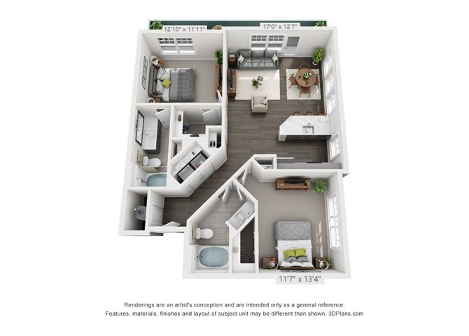 B3-1 Floor Plan 11
