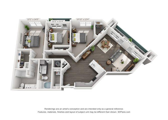 C1-1 Floor Plan 14