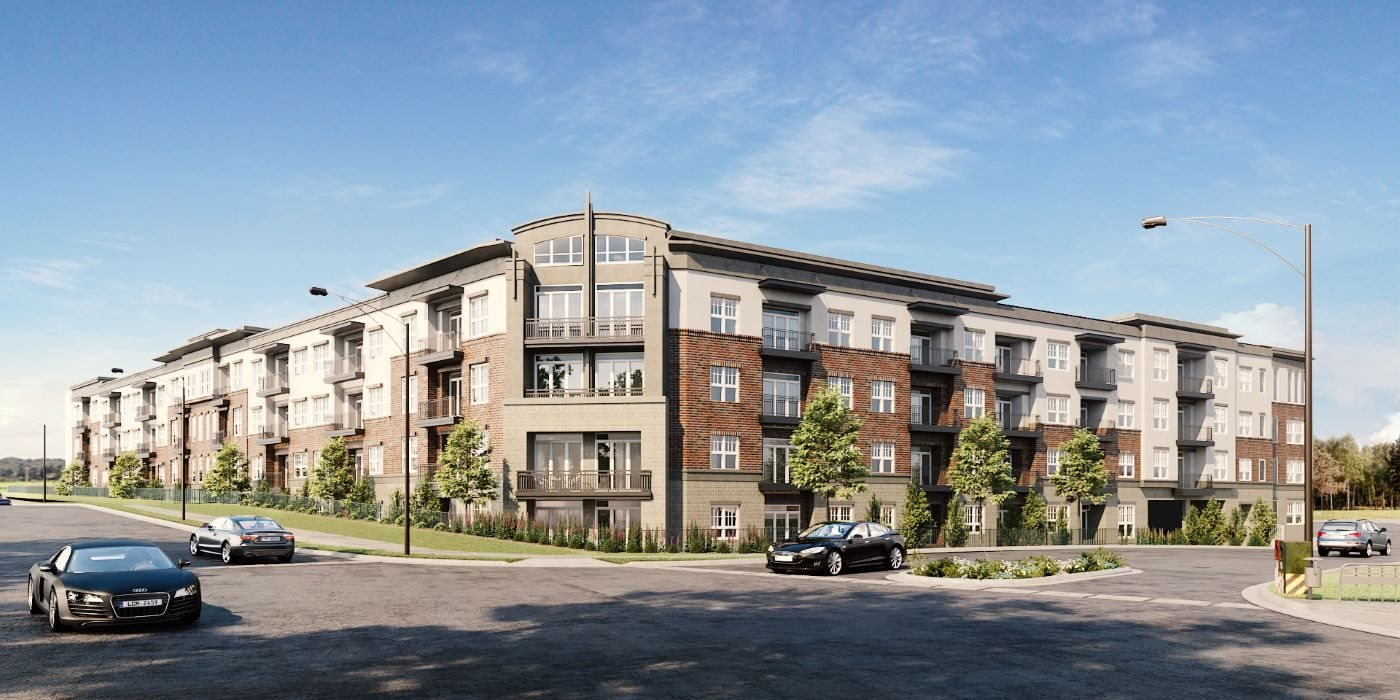Luxury mid-rise apartment community in Greensboro, NC Hawthorne at Friendly
