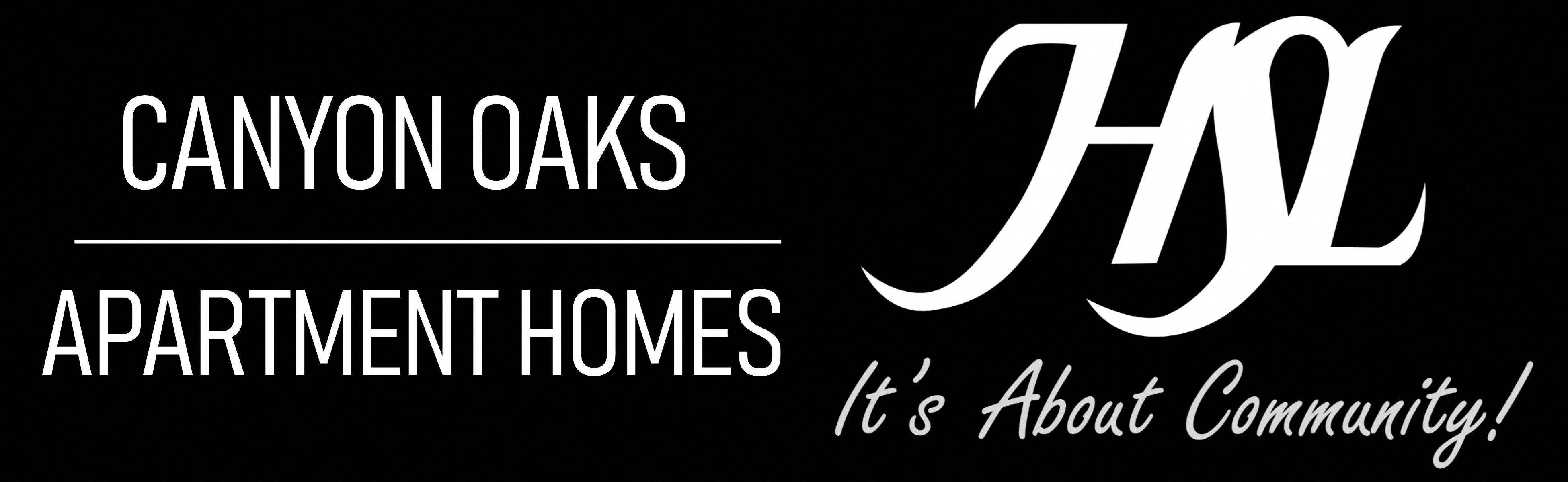 Canyon Oaks Apartment Homes Logo