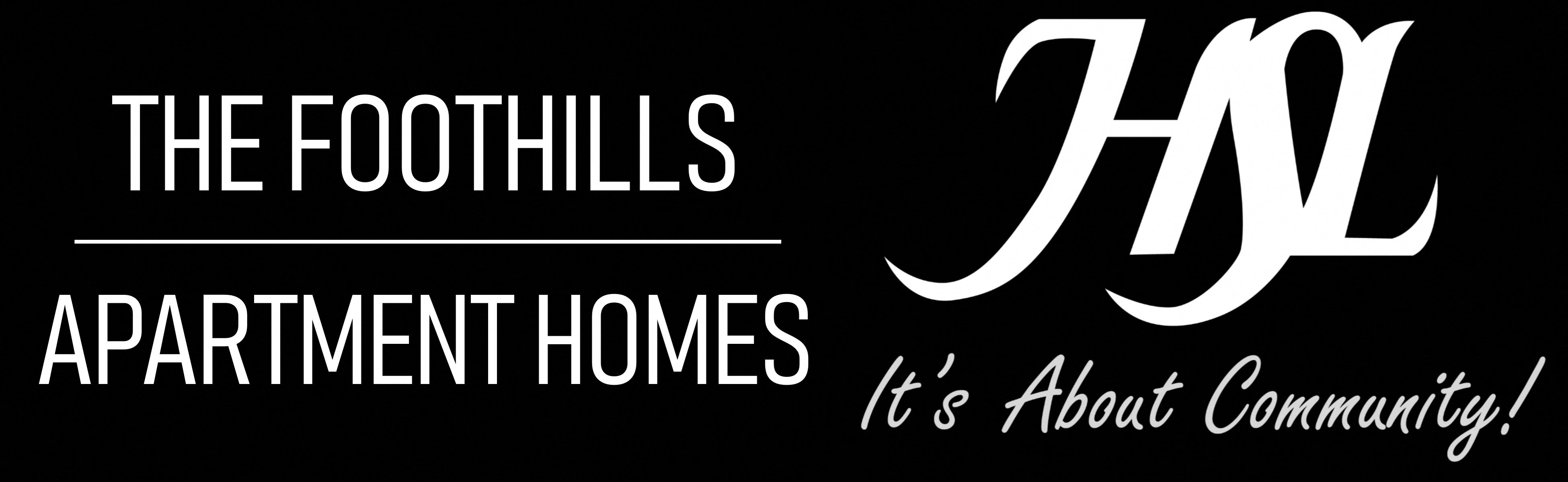 Foothills Apartment Homes Logo