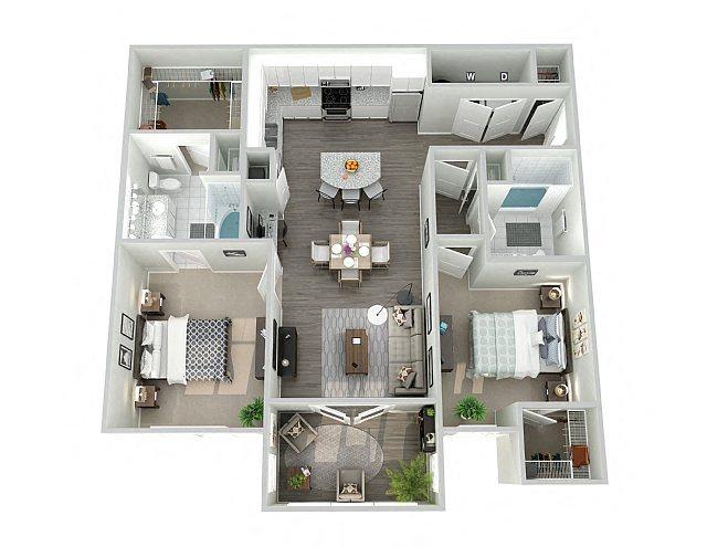 B1SUN Floor Plan 6