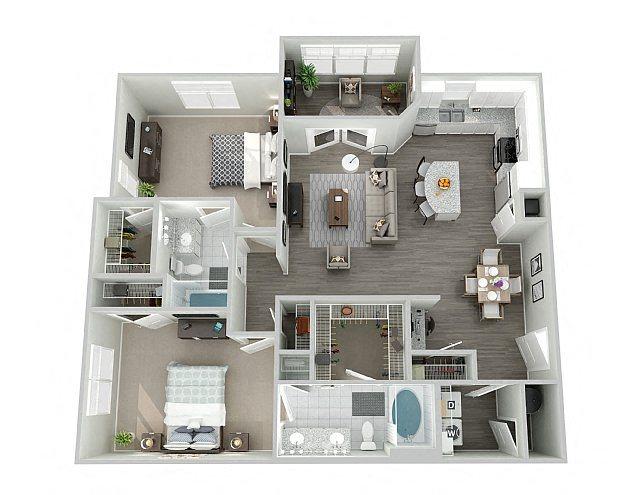 B2SUN Floor Plan 8