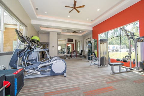 Lodge at Croasdaile Farm Brand New Fitness Center