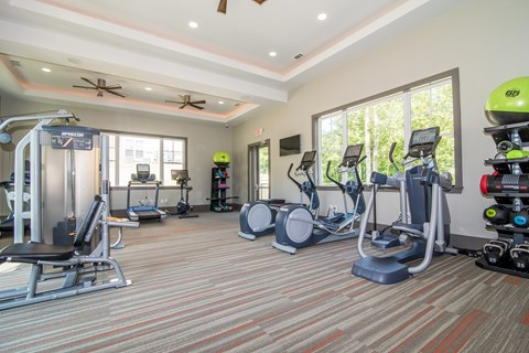 Lodge at Croasdaile Farm Fitness Center