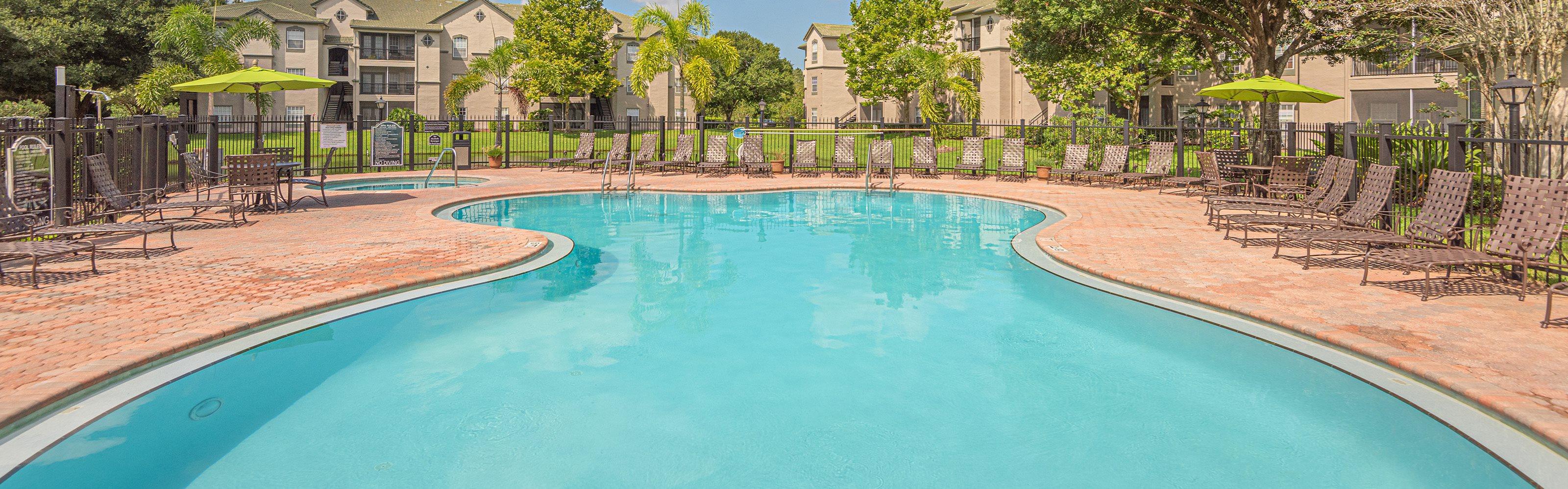 Versant Place Apartments pool area