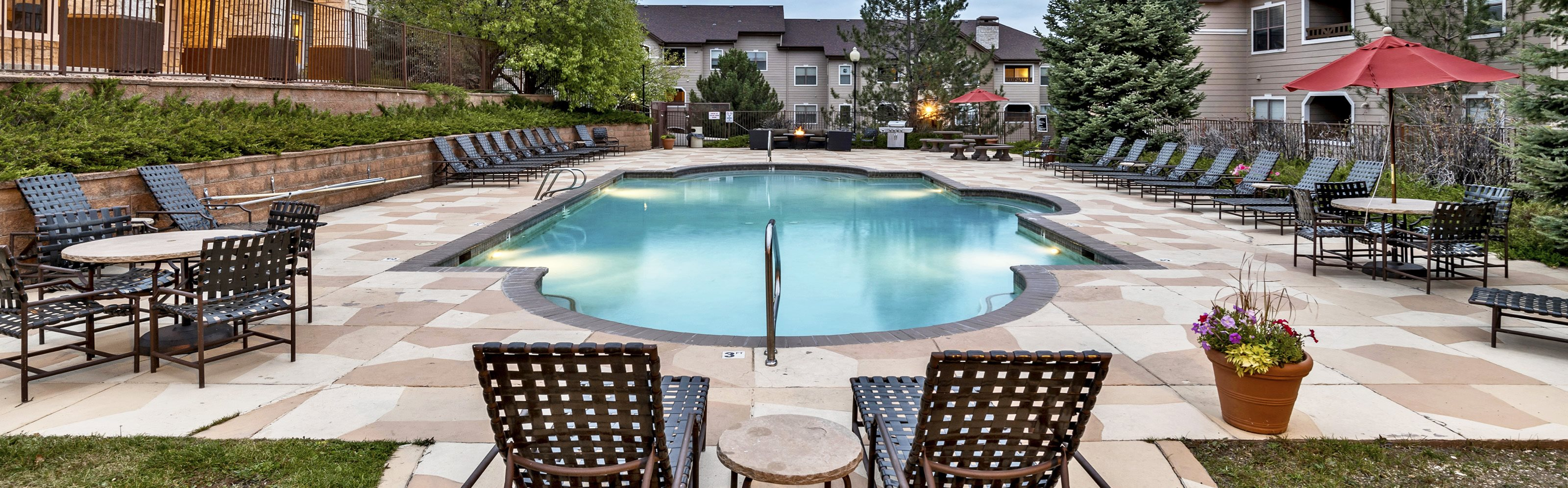 Grand Centennial Apartments pool area