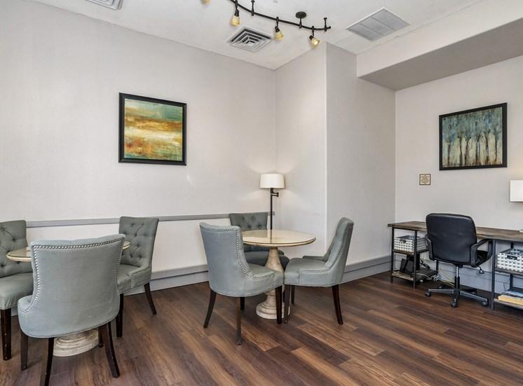 Grand Centennial Apartments clubhouse social area