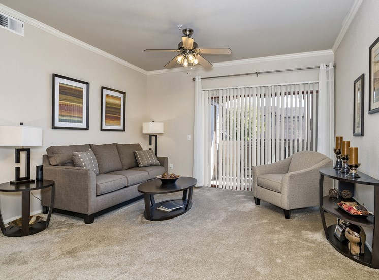 Grand Centennial Apartments - Staged interior - Living room