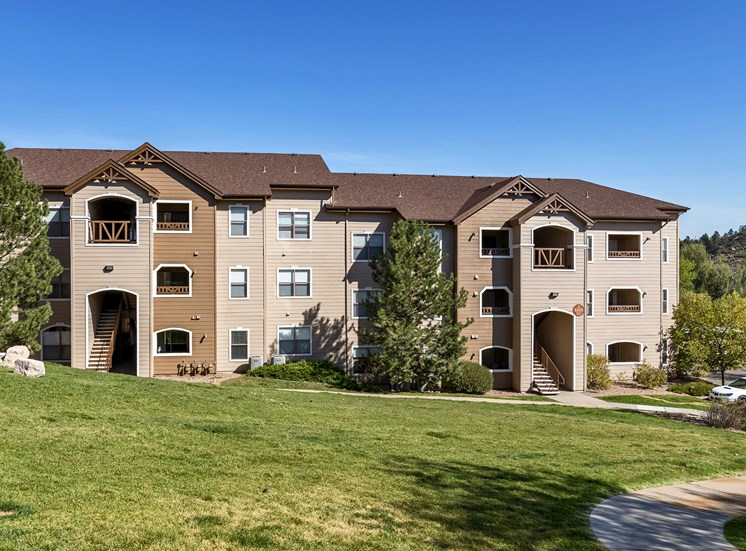 Grand Centennial Apartments large patios available