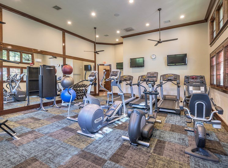 The Estates at River Pointe - State-of-the-art cardio and weight-training facility
