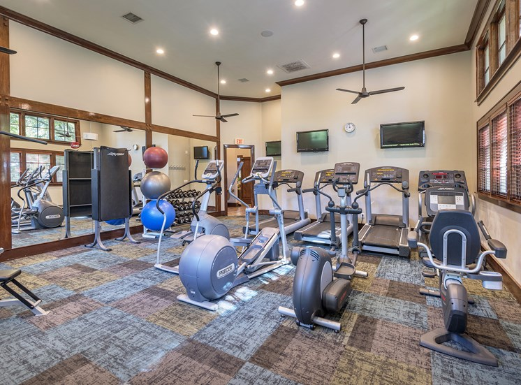 State-of-the-art cardio and weight-training facility