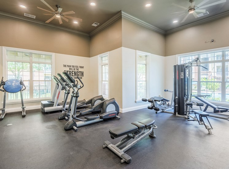 Belle Harbour Apartments - State-of-the-art fitness center