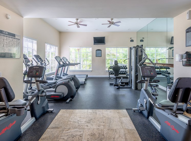 La Costa Apartments fitness center