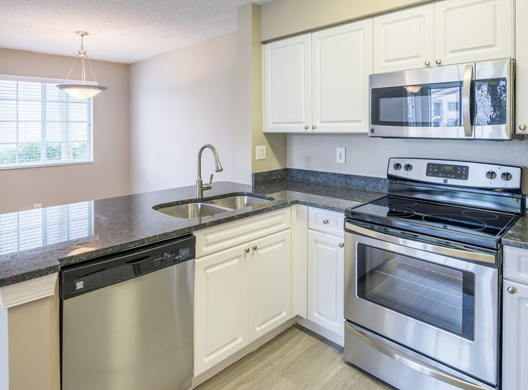 La Costa Apartments stainless steel appliance and granite countertop packages available