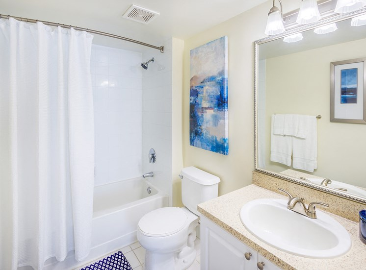La Costa Apartments bathroom interior