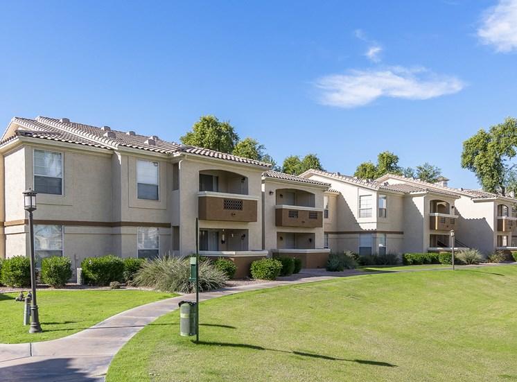 Arrowhead Landing Apartments oversized patios and balconies